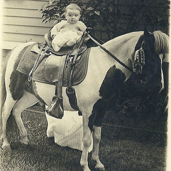 my mother in 1918