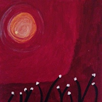 when you have dreams, blog post by Andrea Hurley: painting by Rita Hurley