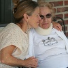 Andrea and her mother, in rehab